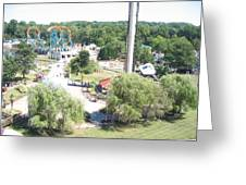 Six Flags America - 12121 Greeting Card