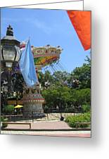 Six Flags America - 12124 Greeting Card