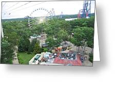 Six Flags Great Adventure - 12125 Greeting Card
