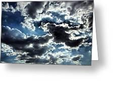 Sky  Greeting Card by Natalya Karavay