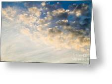 Sky With Clouds Greeting Card
