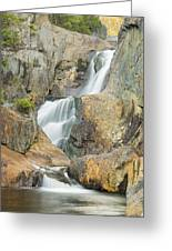 Smalls Falls In Western Maine Greeting Card