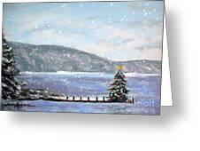 Smith Mountain Lake Christmas Greeting Card