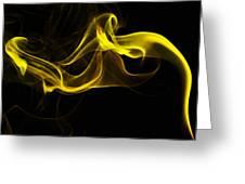 Smoke 3 Greeting Card