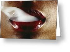 Smoking Greeting Card