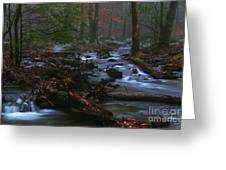 Smoky Mountain Color Greeting Card