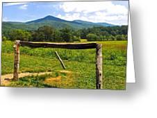 Smoky Mountain Greeting Card