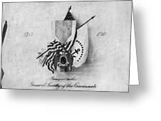 Society Of The Cincinnati Greeting Card