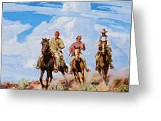 Sons Of The Desert Greeting Card