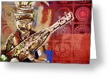 South Asian Art Greeting Card
