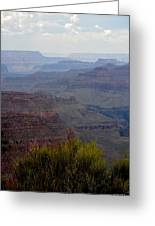 South Rim View Greeting Card by Carrie Putz