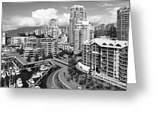South Vancouver Bc Canada Greeting Card
