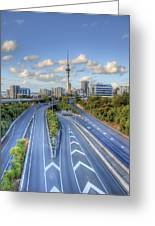 Spaghetti Junction Greeting Card