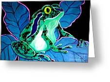 Speckled Frog Greeting Card