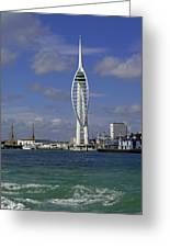 Spinnaker Tower Greeting Card