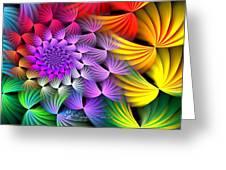 Spiral Swirls Greeting Card