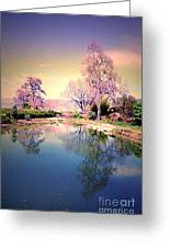 Spring In The Gardens Greeting Card