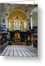 St. Clement Danes Greeting Card