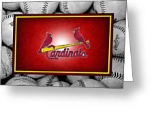 St Louis Cardinals Greeting Card