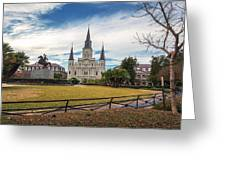 St. Louis Cathedral IIi Greeting Card