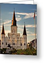 St. Louis Cathedral Va Greeting Card