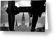 St. Louis Cathedral Vii Greeting Card