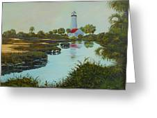 St. Marks Lighthouse Greeting Card