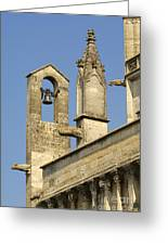 St Marthe Collegiate Church, France Greeting Card