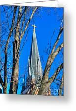 St. Marys Church Steeple Of St Marys Church Greeting Card