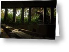 St. Peter's Seminary Greeting Card by Peter Cassidy
