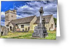 St Sannans Church Bedwellty 2 Greeting Card