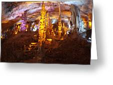 Stalactite Cave Greeting Card