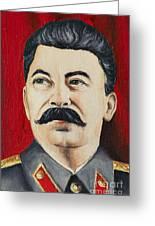 Stalin Greeting Card