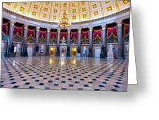 Statuary Hall Greeting Card