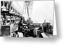 Steamship 'great Eastern Greeting Card