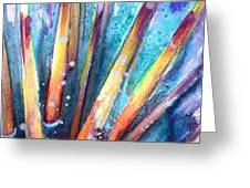Spine Of Urchin Greeting Card by Ashley Kujan