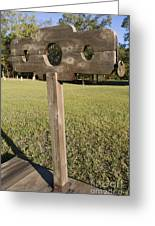 Stockade Ninety Six National Historic Site Greeting Card