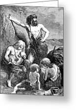Stone Age Family Greeting Card