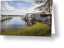Stoney Creek Marina Greeting Card