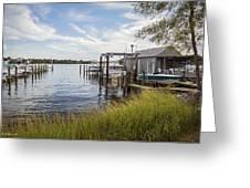 Stoney Creek Marina Greeting Card