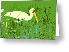 Storks  Greeting Card