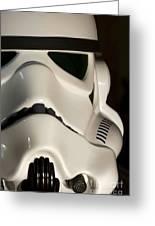 Stormtrooper Helmet Greeting Card
