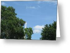 Sts-132 Liftoff 1 Greeting Card