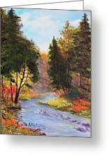 Sturgeon River  Greeting Card