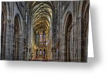 St.vitus Cathedral Greeting Card