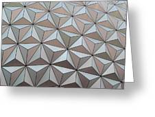 Sub Triangles Greeting Card