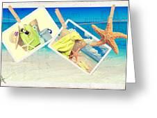 Summer Postcards Greeting Card by Amanda Elwell