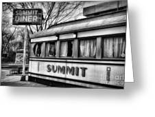 Summit Diner Greeting Card