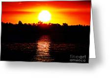 Sun 3 Greeting Card