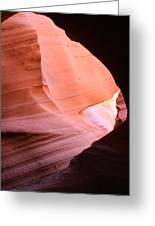 Sunlit Canyon Greeting Card